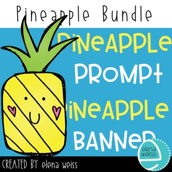 Pineapple Prompt and Banner Bundle