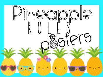Pineapple Rules Posters