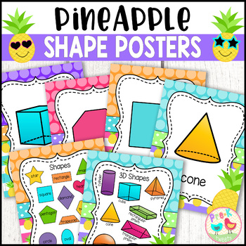 Pineapple Shape Posters