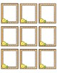 Pineapple Small Nametags Classroom Decor - 7 Different Colors