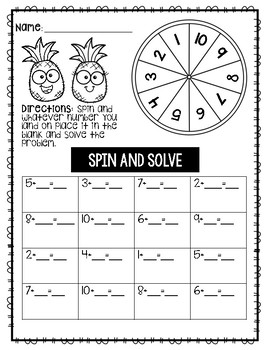 Pineapple Spin and Solve (Addition)