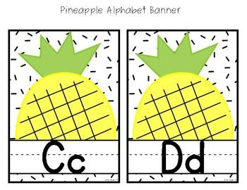 Pineapple Sprinkled Decor