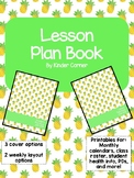 Teacher Planner 2017-2018 – Pineapple Theme