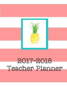 Pineapple Teacher Planner