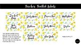 Pineapple Teacher Toolkit Labels