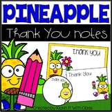 Pineapple Thank You Cards for Teachers