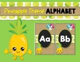 Pineapple Theme Alphabet