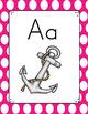 Pineapple Theme Alphabet Posters
