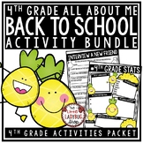Pineapple Theme Back To School Activities 4th Grade All Ab