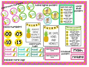 Pineapple Theme Bundle