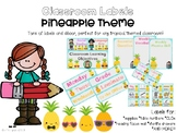 Pineapple Theme Classroom Decor