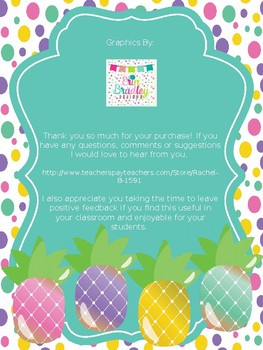 original-3036617-3 Teachers Welcome Letter Template Pinapple Theme on