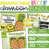 Pineapple Theme - Complete Classroom Decor BUNDLE