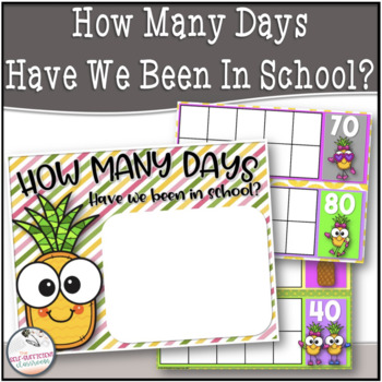 Pineapple Theme How Many Days Have We Been In School?