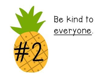 Pineapple Theme Rules