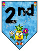 Pineapple Theme Welcome Banner (Color and Black and White Included) Class Decor