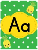 Pineapple-Themed ABCs