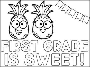 Pineapple Themed Back to School Bundle