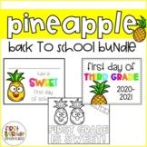 Pineapple Themed Back to School Bundle