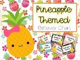 Pineapple Themed Behavior Chart