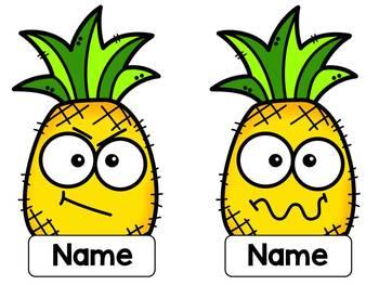 Pineapple Themed Bulletin Board Classroom Display