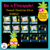 Pineapple Themed Classroom Decor and More Bundle