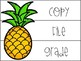 Pineapple Themed Drawer Labels (EDITABLE)