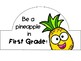 Pineapple Themed Headbands - EDITABLE