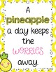 Pineapple Themed Inspirational Quotes