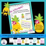 Pineapple Themed Writing Activity Bulletin Board Set