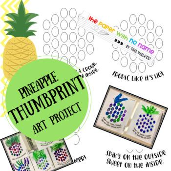 Pineapple Thumbprint Craft