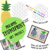 Pineapple Thumbprint Craft