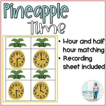 Pineapple Time for hour and half hour