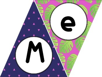 Pineapple Triangle WELCOME Banners