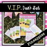 Pineapple VIP Desk Set