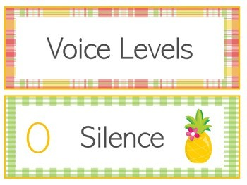 Pineapple Voice Levels | Pineapple Voice Level Chart