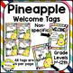 Pineapple Welcome Banner, Tags, and Poster