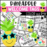 Pineapple Welcome Gift Tags