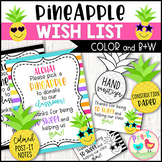 Pineapple Wish List