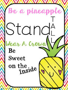 Be A Pineapple: Writing Prompt