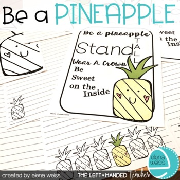Writing Prompt: Be A Pineapple