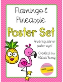 Pineapple and Flamingo Posters!