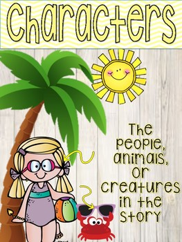 Pineapple themed Fiction Story Elements