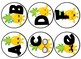 Pineapple themed Word Wall headers and alphabet labels