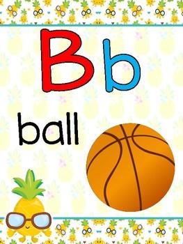 Pineapples ABC