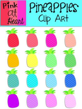 Pineapples Clip Art