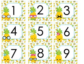Pineapples Deco Bundle