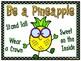 Pineapples Go to School   Behavior Clip Chart