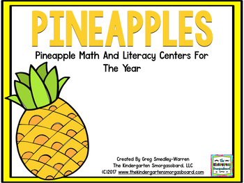 Pineapples! Pineapple Math and Literacy Centers