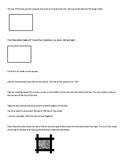 Pinhole Box Directions